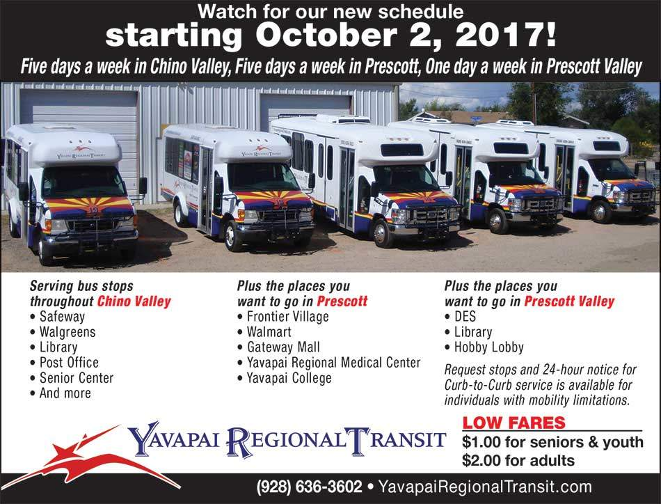 New Routes Coming October, 2017